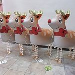 もうすぐクリスマス☆冬のバルーンとクリスマスバルーン