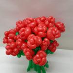 色んなバルーンギフトとつくしやアンズの花