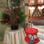 新年最初のお仕事・岩国国際観光ホテルさんでバルーングリーティング
